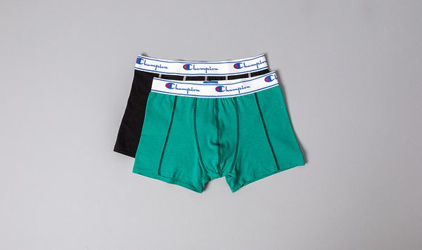 Champion Champion 2pack Boxers Black/ Mint Green